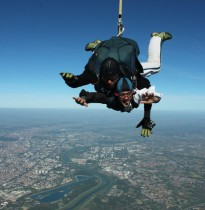 Tandem skydive and free fall from 2500m and Cessna C-182 above Zagreb. With 3 days notice and good weather conditions, tandem jumps are possible even during week days.