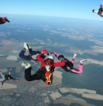 Tandem skydives Lendava and 60 seconds free fall from 4000m and airplane PC-6 Pilatus Porter.